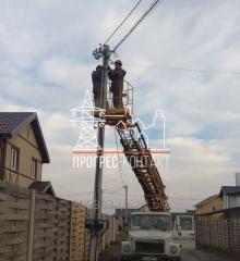 Подключение электричества к дому или участку