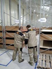 Монтаж (Сборка и установка)  полочных  стеллажей по самой низкой цене в Украиине