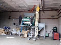 Услуги семенного завода по очистке семян