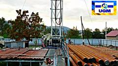 Бурение и ремонт термальных скважин, Бурение на термальные воды до 2500м