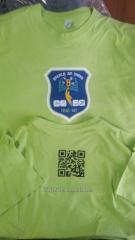 Нанесение логотипа на текстиль (футболки, кепки, жилетки)