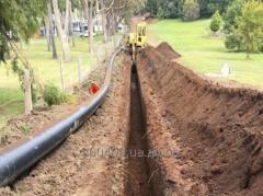 Будівництво мереж водопостачання
