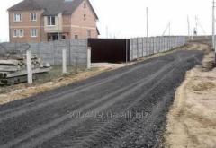 Будівництво під'їздних  і тимчасових доріг