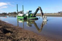 Строительство прудов, озер, водоемов при помощи