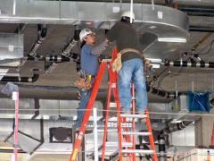 Монтаж систем вентиляції кондиціювання