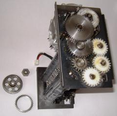 Gear-milling works