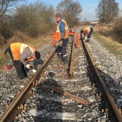 Строительство/восстановление/замена/демонтаж, подъездных колий, стрелочных переводов и железнодорожных путей