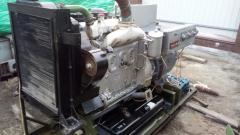 Коммутация военного генератора 30 кВт ОС-72 с 220В на 380В