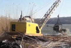 Расчистка береговой линии
