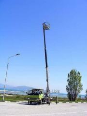 Услуги автовышек в Одессе высотой 14, 17, 20, 28
