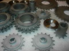 Design and production of details from metal,