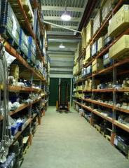 Services of the customs and license warehouse
