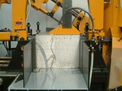 Services in cutting of metal rolling on