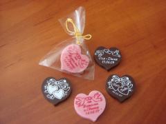 Производство шоколада к свадьбе