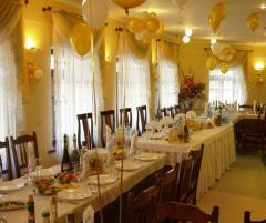 Банкетный зал, зал для проведения юбилеев, презентаций, корпоративных праздников и других мероприятий