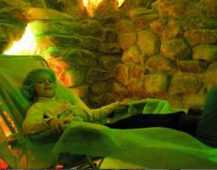Treatment in a cave sal