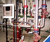 Installation of systems of heat supply, metering