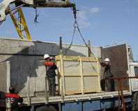 Warehouse services and services in cargo handling
