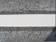 Гладкое сплошное нанесение разметки дорог