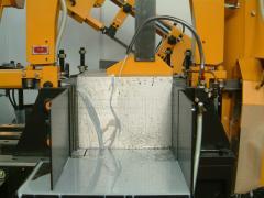 Порезка металлопроката на заготовки на ленточнопильных станках Everising. Автоматическая и полуавтоматическая резка, резка под углом, резка пакета заготовок