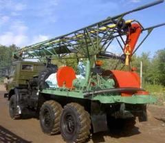 Repair of URB-2,5 drilling rigs