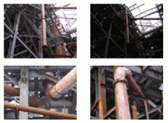 Installation of pipelines of different type