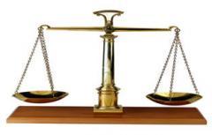 Услуги в области судебных процессов и...