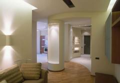 Interior design, equipment by furniture and