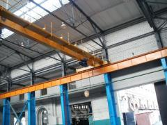 Major repair, reconstruction of load-lifting cranes