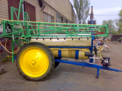 Re-equipment of sprayers import accessories
