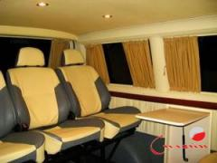 Car covering, Covering of salons, ceiling, seats