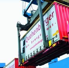 Automobile container cargo transportation