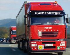 Road haulage of loads (international and across