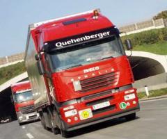 Automobile transportation of loads (international