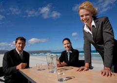 Business tourism, organizations of business and