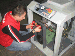 Repair of the compressor, Service of the