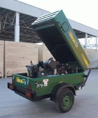 Repair of mobile compressors