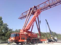 Repair, installation of cranes goa