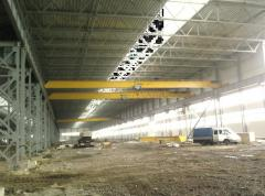 Installation and repair of a subcrane way of