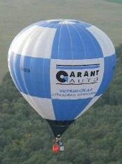Размещение рекламы на воздушном шаре