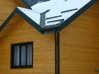 The anti-freezing systems of roof ЭКСОН™ using the
