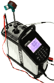 Checking of metering devices - sensors of the