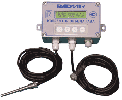 Checking of metering devices of gas with