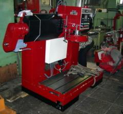 Services in repair and modernization of grinders and cars