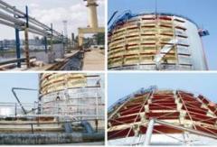 Термоизоляция емкости для хранения нефтепродуктов