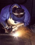 Welding and naplavochny works