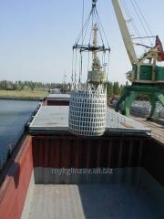 Перевалка грузов в порту (ж/д, водный транспорт)