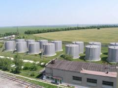 We lease Reservoir capacities under vegetable oil