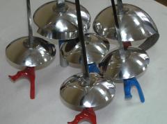Производство спортивного оружия: шпаги, рапиры,