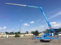 АРЕНДА прицепного самоходного крана K23-33 TSR-City, Klaas (Германия) с платформой для подъема людей